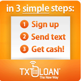 text loans image